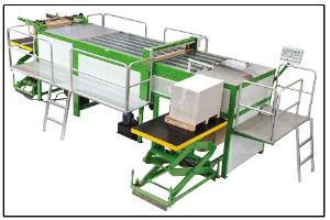 SPEEDWELL Semi-Auto Ream Wrapping Machine